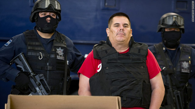 Jose de Jesus Mendez Vargas, the top leader of La Familia drug cartel, was arrested Tuesday.