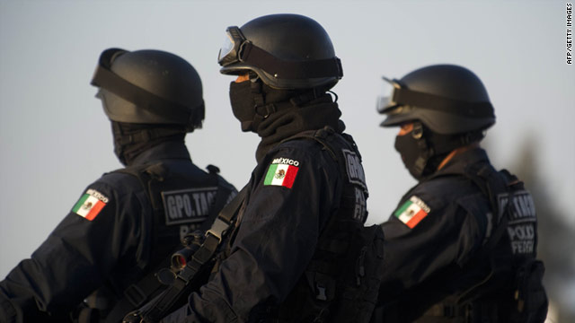 Soldiers are replacing police officers to provide security in 22 cities in Mexico's Tamaulipas state.
