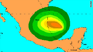 Tropical Storm Arlene, the first named storm of the 2011 hurricane season, is expected to affect northeast Mexico.