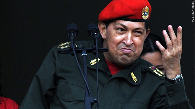 Venezuelan President Hugo Chavez returned to his homeland on Monday after spending three weeks in Cuba.