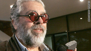 Argentine folk singer Facundo Cabral, 74, gained fame as a protest singer.