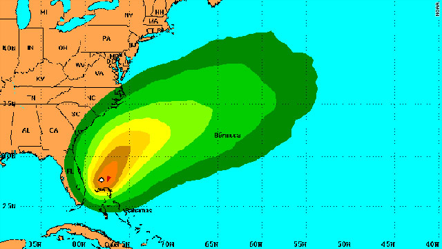 Tropical Storm Bret could produce 1-3 inches of rain and high surf conditions along some beaches in the Bahamas.