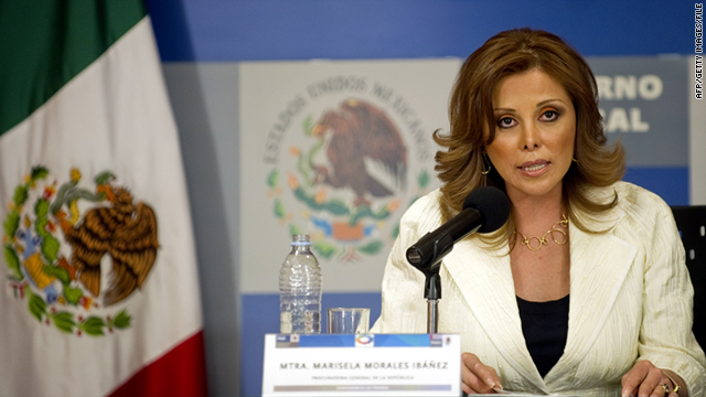 Mexican Attorney General Marisela Morales has spearheaded a groundbreaking shake-up.
