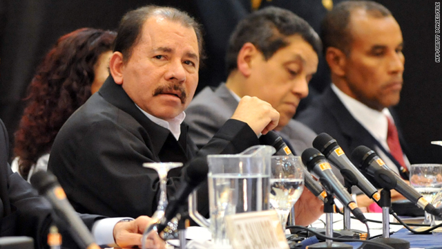 Nicaraguan President Daniel Ortega has said he would call for a referendum to discuss the payout claim.