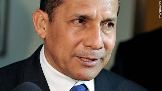 Ollanta Humala has promised to spread the benefits of Peru's economic boom to the poor
