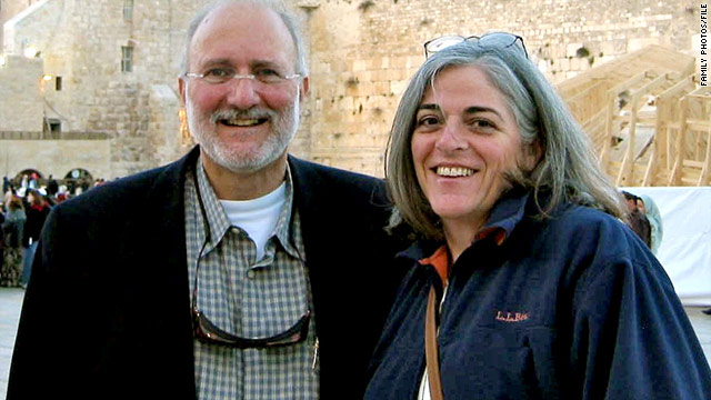 Alan Gross, left, pictured here with his wife Judy Gross, is incarcerated in Cuba.