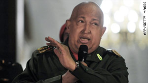 Venezuelan President Hugo Chavez has undergone cancer treatments in both Venezuela and Cuba.