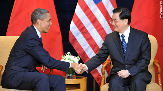 Presidents Barack Obama and Hu Jintao will try to patch up frayed economic ties when they meet in Washington this week.