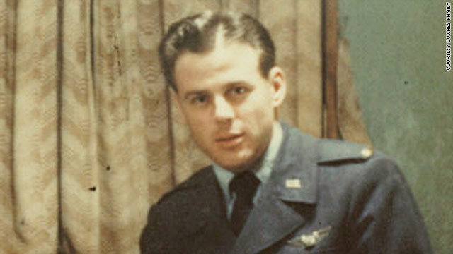 Air Force Lt. Harold Downes was a navigator on a B-26 bomber that went down over North Korea on January 13, 1952.