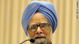 Indian Prime Minister Manmohan Singh.
