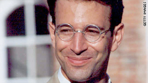 An undated file photo of Daniel Pearl.
