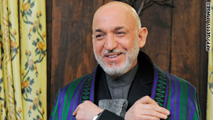 Afghan President Hamid Karzai spoke Sunday at a security conference in Munich, Germany.