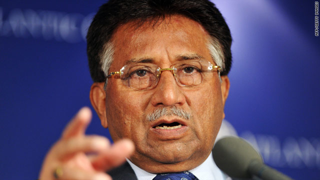 Pervez Musharraf went into self-imposed exile in London after resigning in 2008.