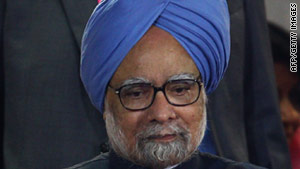 Indian Prime Minister Manmohan Singh's government is facing massive criticism for its handling of endemic corruption.