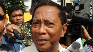 Jejomar Binay (pictured in June 2010) will appeal to the Chinese government for clemency for three Filipinos.