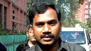 Former telecom minister A. Raja has been arrested in connnection with a massive telecom scandal in India.