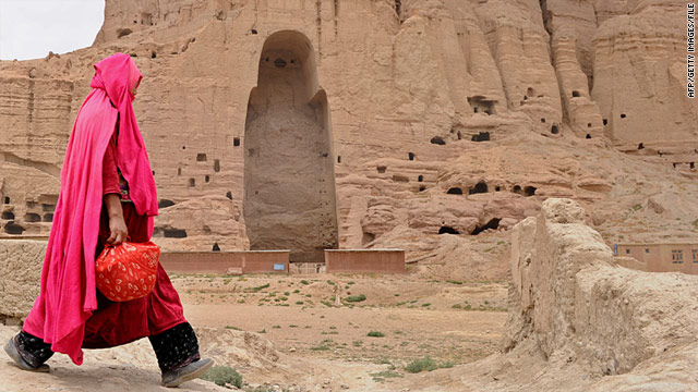 A German professor believes reconstructing the smaller of the Bamiyan figures is possible.