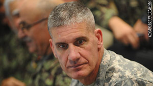 Lt. Gen. David M. Rodriguez apologized for the accidental killing of nine Afghan boys by NATO forces on Tuesday.