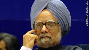 Prime Minister Manmohan Singh's government has been wracked by a series of corruption scandals in the past year.
