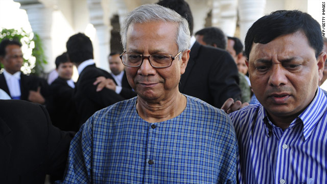 The High Court has rejected the petition of Muhammed Yunus (pictured left) to remain as managing director of Grameen Bank.