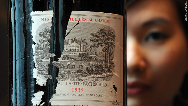 Empty bottles of Chateau Lafite can fetch as much as HK$10,000 (US$1,500) on the black market in China.