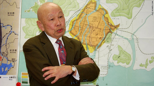 Hiroshima survivor Keijiro Matsushima: 'It's like the third atomic bomb attack on Japan, but this time we made it ourselves'.