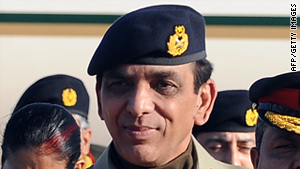 Pakistani Chief of Army Staff, General Ashfaq Parvez Kayani.