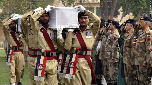 Soldiers mistakenly kill themselves in Pakistan