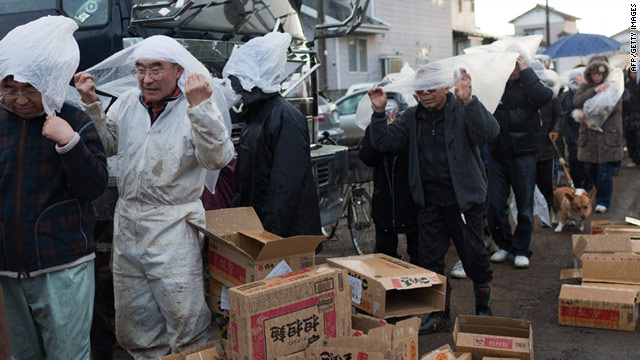 Thousands of Japanese people are still awaiting news of the whereabouts of relatives following the earthquake.