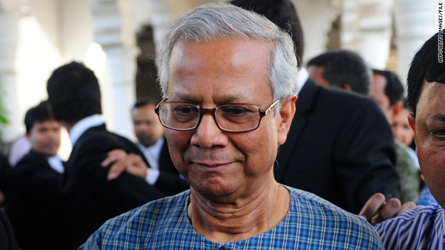Last month, the central bank of Bangladesh cited age in explaining the removal of Muhammad Yunus from Grameen Bank.