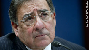 CIA Director Leon Panetta testifies before the House Intelligence Committee in Washington, DC on February 10.