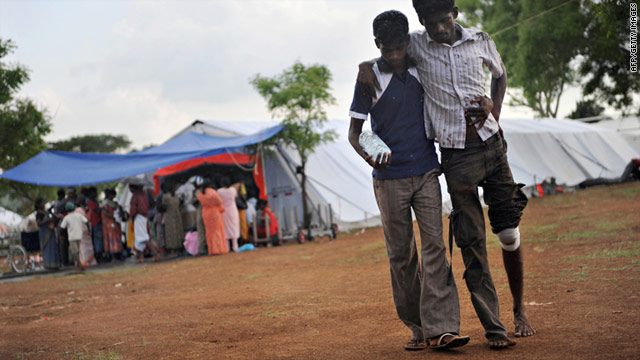 Thousands of civilians were caught up in the final stages of Sri Lanka's decades-long bloody civil war in 2009.