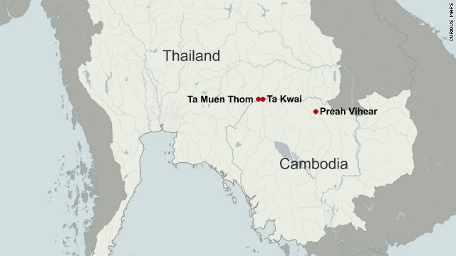 Thai Military Deadly Fighting Resumes At Cambodian Border
