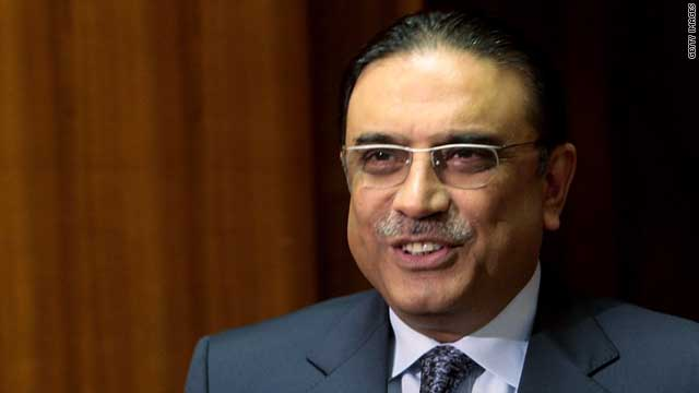 Writing in a Washington Post op-ed column, Asif Ali Zardari defended Pakistan's anti-terror activities.