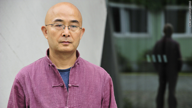 Chinese dissident writer Liao Yiwu, in Berlin last September, was prevented from attending the Sydney Writers' Festival.