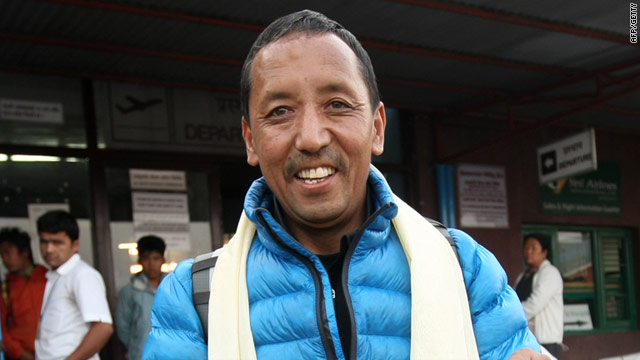 Apa Sherpa has ascended Mount Everest 21 times, a world record.