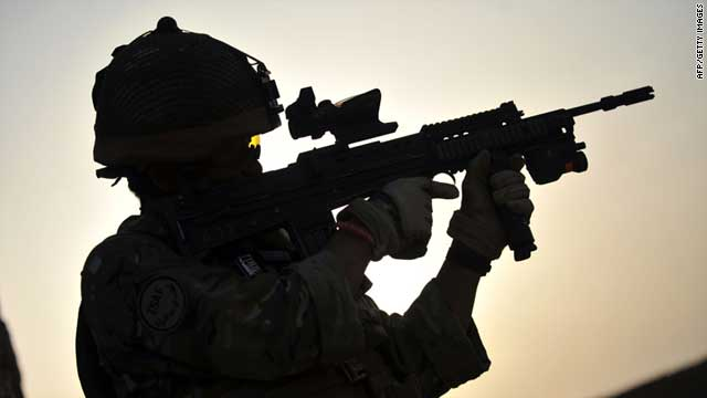 NATO and Afghan officials said on Monday that the death of the soldier is under investigation.