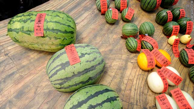 A recent wave of exploding watermelons has spotlighted safety fears in China's food sector.