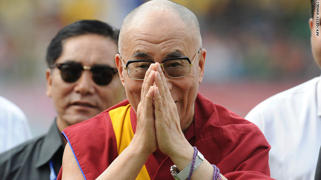 Top U.S. lawmakers meet with Dalai Lama