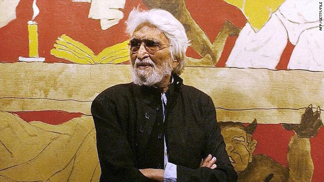"""El """"Picasso"""" de la India muere a los 95 años"""