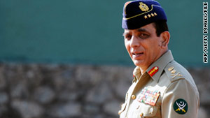 Ashfaq Parvez Kayani, Pakistani's army chief of staff, has been criticized for a close relationship with the Obama administration.