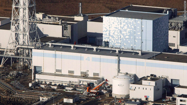 The new system is supposed to absorb cesium from the highly-contaminated water at the crippled plant.