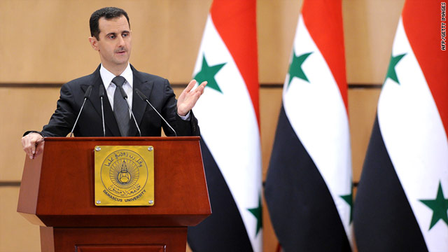 Another deeply disappointing speech by Bashar al-Assad