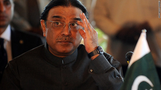 President Asif Ali Zardari has said rocket attacks, which took place in Afghanistan's Kunar province, were not carried by the Pakistani army.