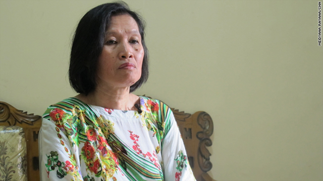 Indonesian domestic helper Rosnani Matsuni says her employers abroad ignored her basic human rights.