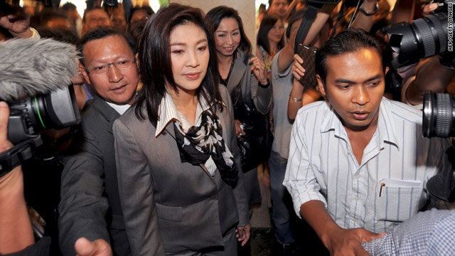 "Yingluck Shinawatra insists she ""can't do anything special"" to help her brother Thaksin, who was ousted in a 2006 coup."