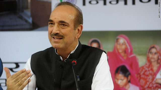 "Indian Health Minister Ghulam Nabi Azad told a conference on HIV and AIDS homosexuality as an ""unnatural disease."""