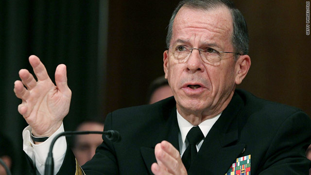 Chairman of the Joint Chiefs of Staff Adm. Mike Mullen in Washington, D.C., on June 15.