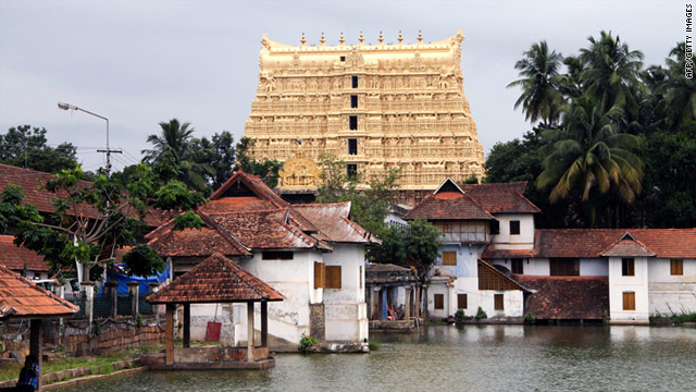 The riches were stashed for centuries in the vaults of the famed Sree Padmnabha Swamy temple.