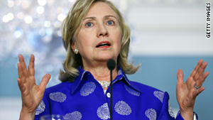 "Secretary of State Hillary Clinton said the money supply hold emphasizes that the ""partnership depends on cooperation."""